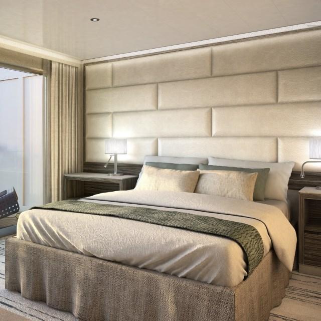 Silversea Origin classic veranda suite