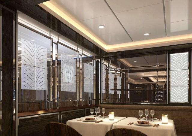 Silversea Silver Moon LaDame Lalique