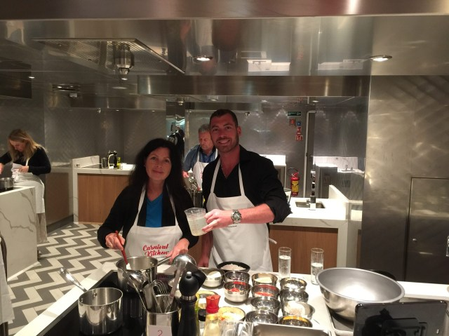 Carnival Panorama Kitchen Cooking Classes