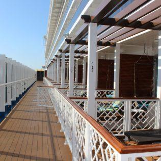 Carnival Cruises Panorama cruise ship Havana cabins Lanai