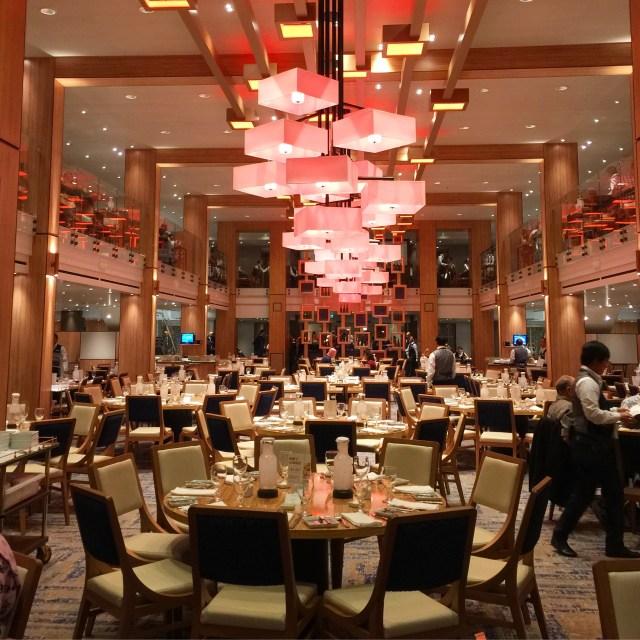 Carnival panorama diningroom