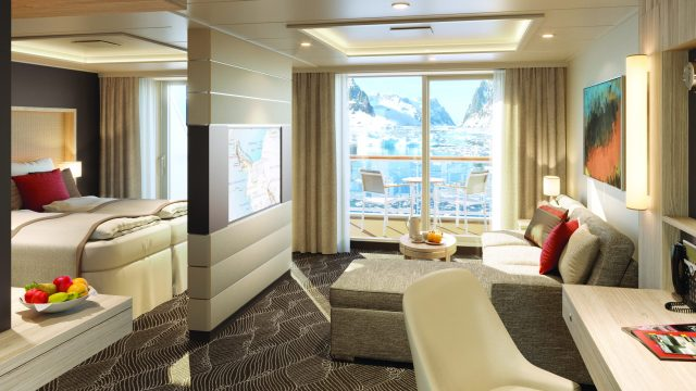 Lindblad Expeditions National Geographic Endurance cruise large suite