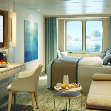 Lindblad Expeditions National Geographic Endurance cruise ship standard suite