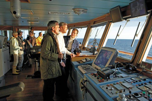 Lindblad Expeditions National Geographic Explorer bridge