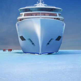 Viking Cruises Expedition Ice Bow Windows