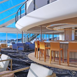 Viking Cruises Expedition Ship Explorers lounge