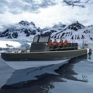 Viking Cruises Expeditions RIB with guests