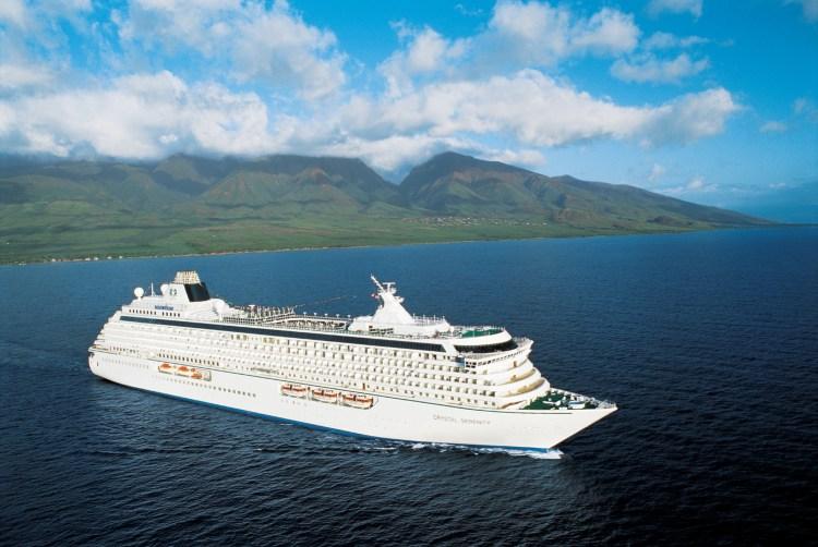 Crystal Cruises Serenity cruise ship world cruise coronavirus