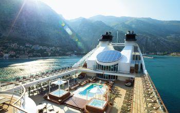 Seabourn Cruises cruise ship pool deck
