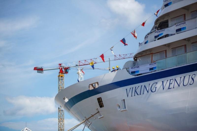 Viking Cruises Viking Venus cruise ship bow