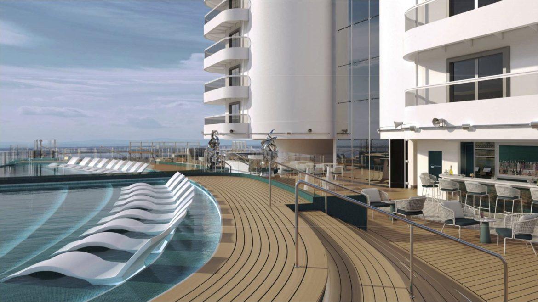 MSC Cruises floats out new Seashore cruise ship