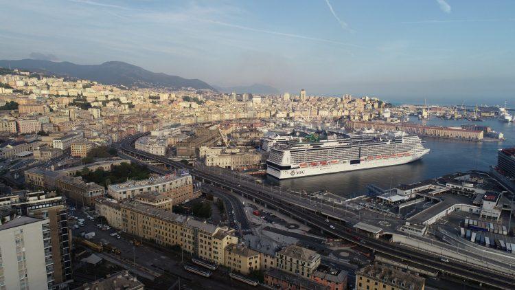 msc cruises grandiosa cruise ship resumes sailing COVID-19