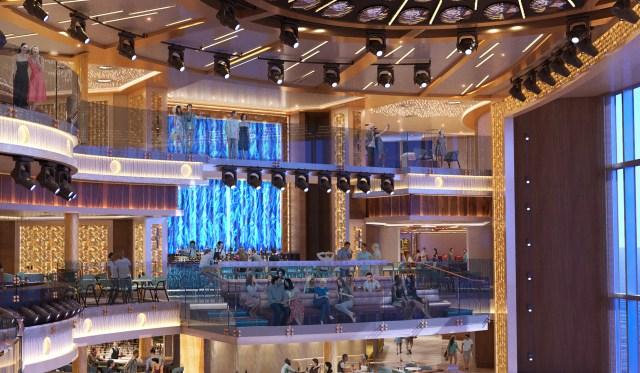 Carnival Cruise Mardi Gras Atrium Bar 2
