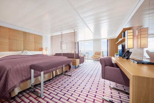 Hapag-Lloyd Cruises MS EUROPA 2 grand suite