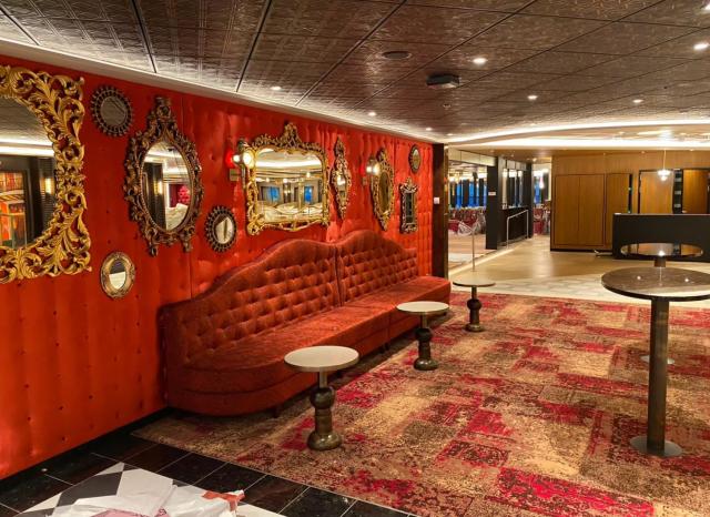 Carnival Cruises Mardi Gras Lounge