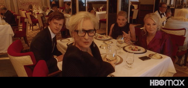 Cunard Queen Mary 2 HBO Movie Let Them All Talk dining room