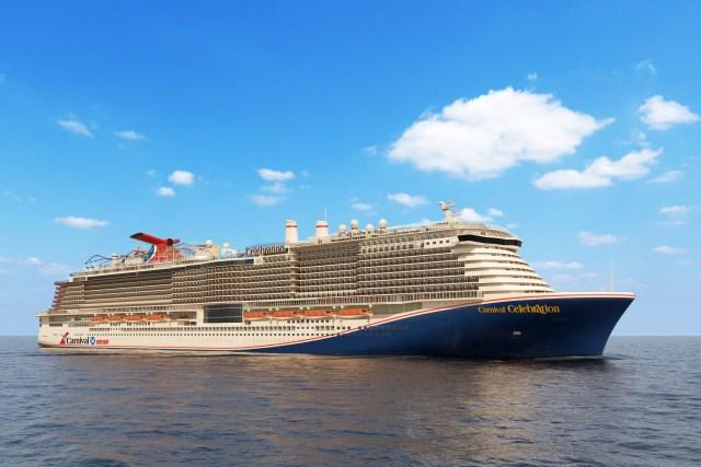 Carnival Cruises Celebration cruise ship