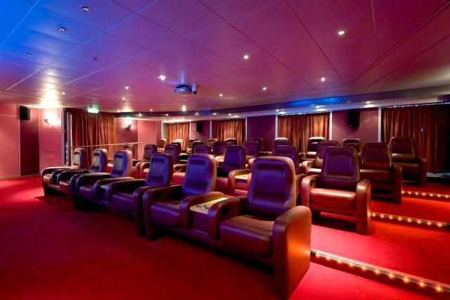 P&O Cruises Arcadia Screening Theatre