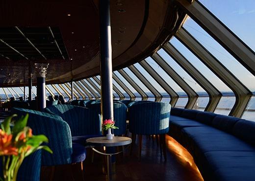 Fred Olsen Cruise Lines Borealis Lounge Windows