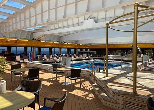 Fred Olsen Cruise Lines Borealis Pool
