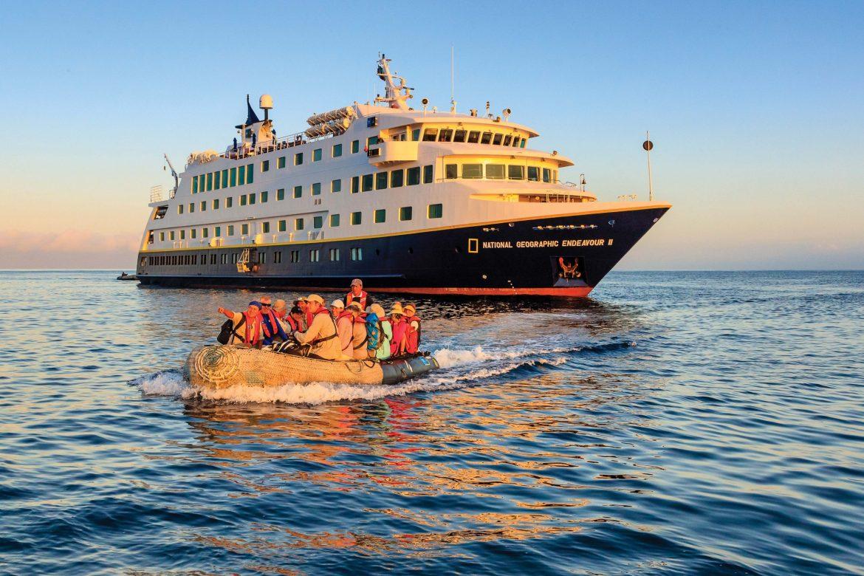 Lindblad Expeditions to cruise Alaska and Galapagos June 2021