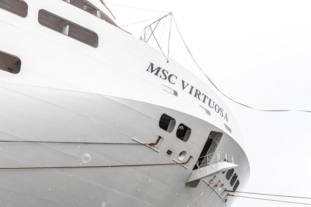 MSC Cruises virtuosa delivery