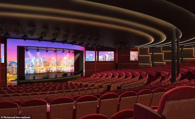 P&O Cruises Arvia Headliners Theatre