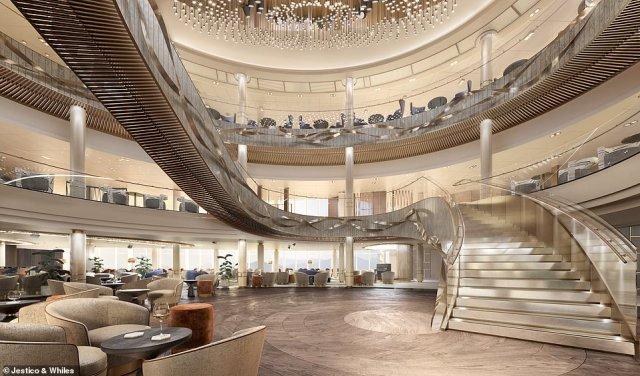 P&O Cruises Atrium