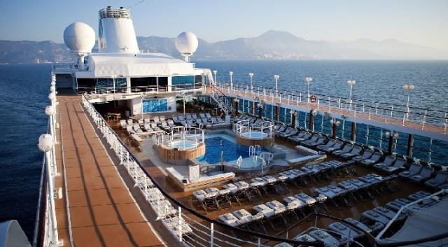 Azamara Cruises Pursuit top deck