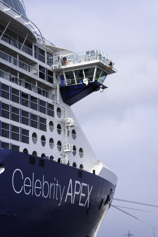 Celebrity Cruises Apex bridge