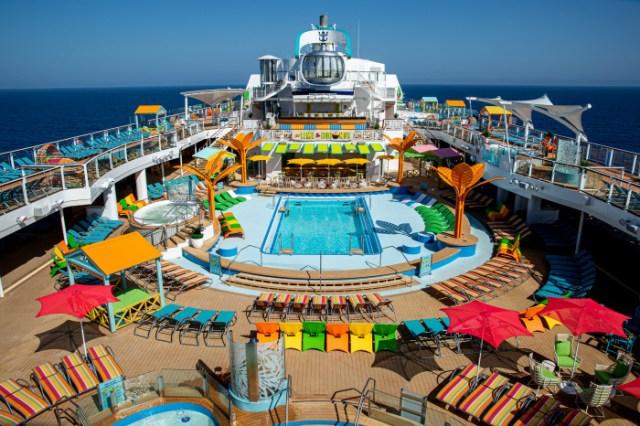 royal caribbean odyssey of the seas pool