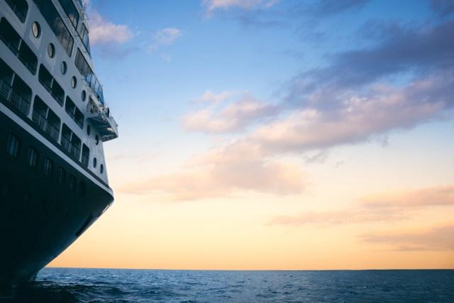 Azamara Cruises ship out at sea
