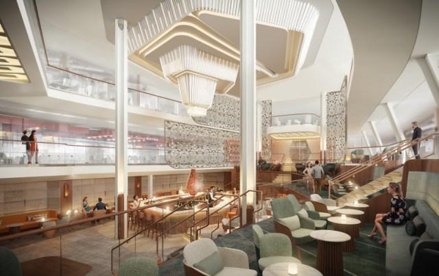 Celebrity Cruises Beyond cruise ship grand plaza