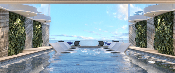 Storyline Narrative cruise ship marina pool