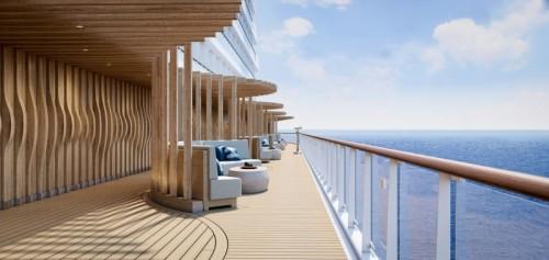 Norwegian cruise line prima norwegianprima oceanboulevard laterraza-rendering