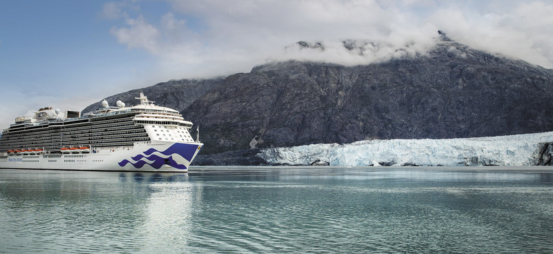 Princess Cruises Majestic ship to cruise Alaska July 2021