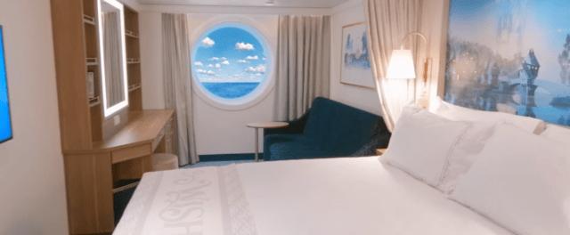 Disney Cruise Line Wish cruise ship cabin