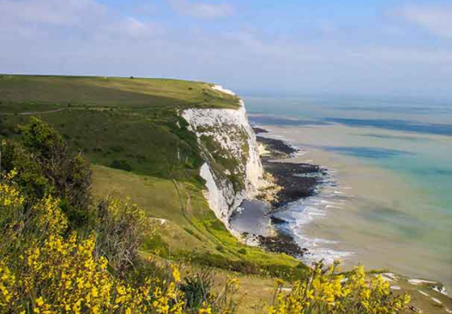 pack for UK cruise white cliffs of dover