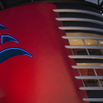 Disney Cruise Line Disney Wish funnel with penthouse suite
