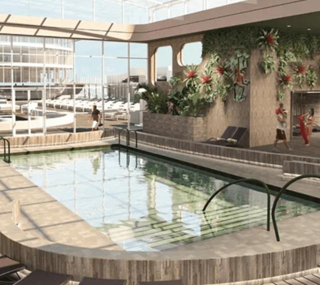 MSC Cruises World Europa pool