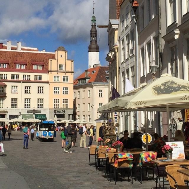 Tallinn Estonia Baltic Cruise square