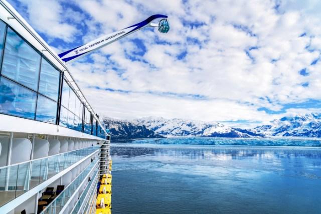 Royal Caribbean Alaska Northstar Hubbard Glacier