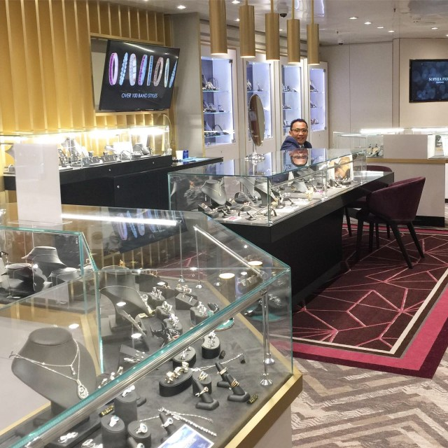 Duty free shopping on ships watches