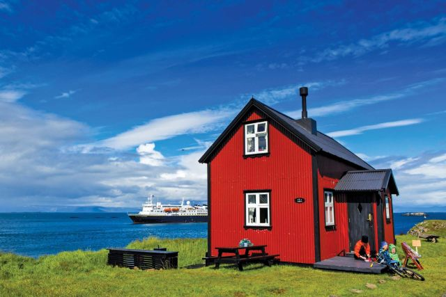 Red house Lindblad Expeditions National Geographic cruise ship