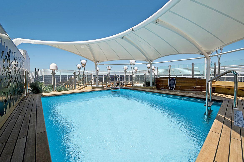 MSC Splendida cruises Mediterranean to four countries