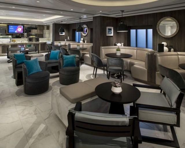 Celebrity Cruises Equinox snacks and beverage area