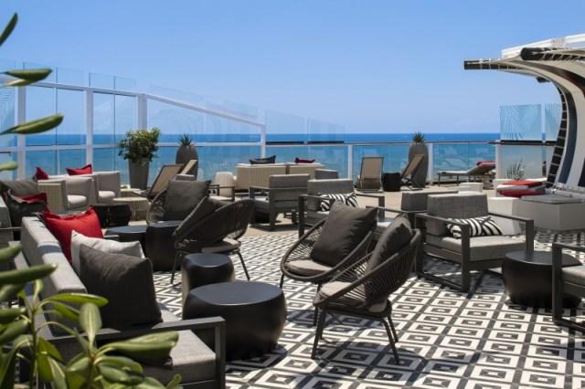 Celebrity Cruises Equinox pool deck