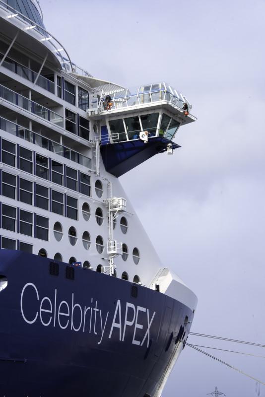 Celebrity Cruises Edge Bridge