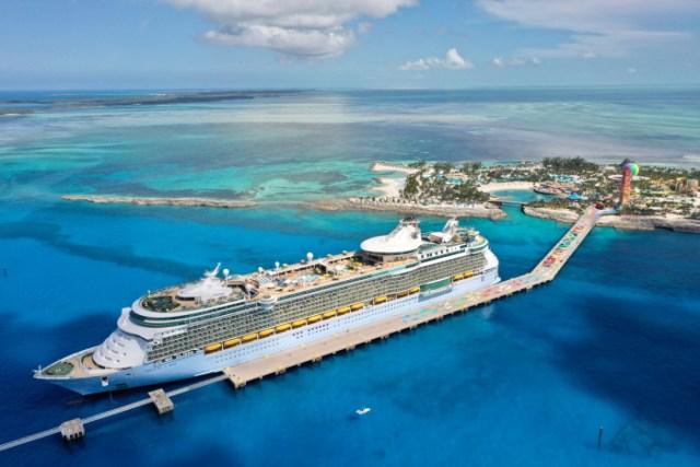 royal caribbean freedom of the seas aerial