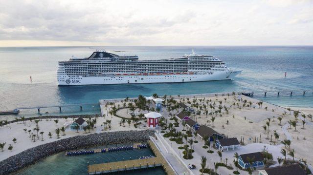 MSC Cruises meraviglia ocean cay